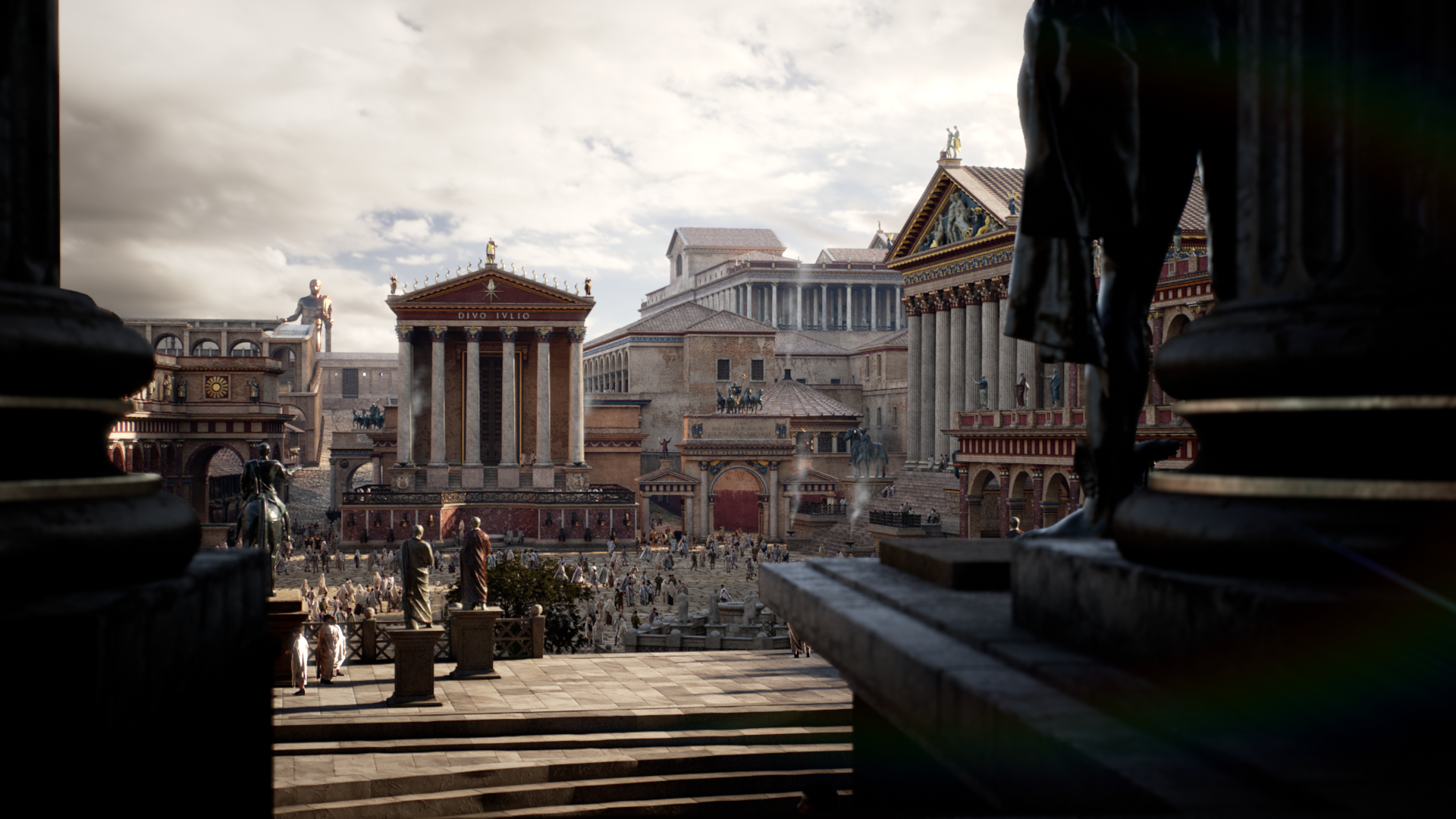 Rome rebuilt in just 1 year…