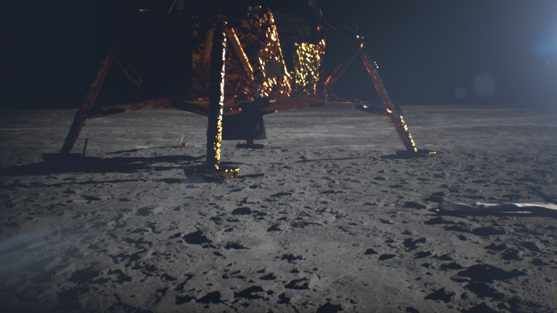 2nd Step – A breathtaking VR journey to Moon and Mars